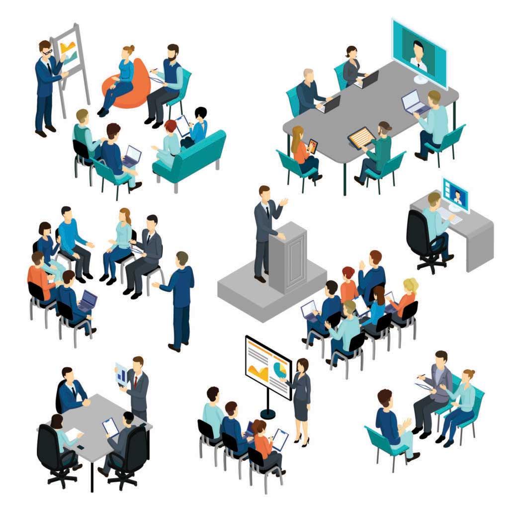 Multiple Meeting Illus